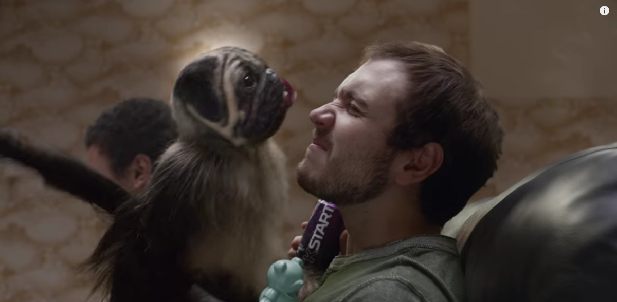 Mountain Dew PuppyMonkey SuperBowl Commercial