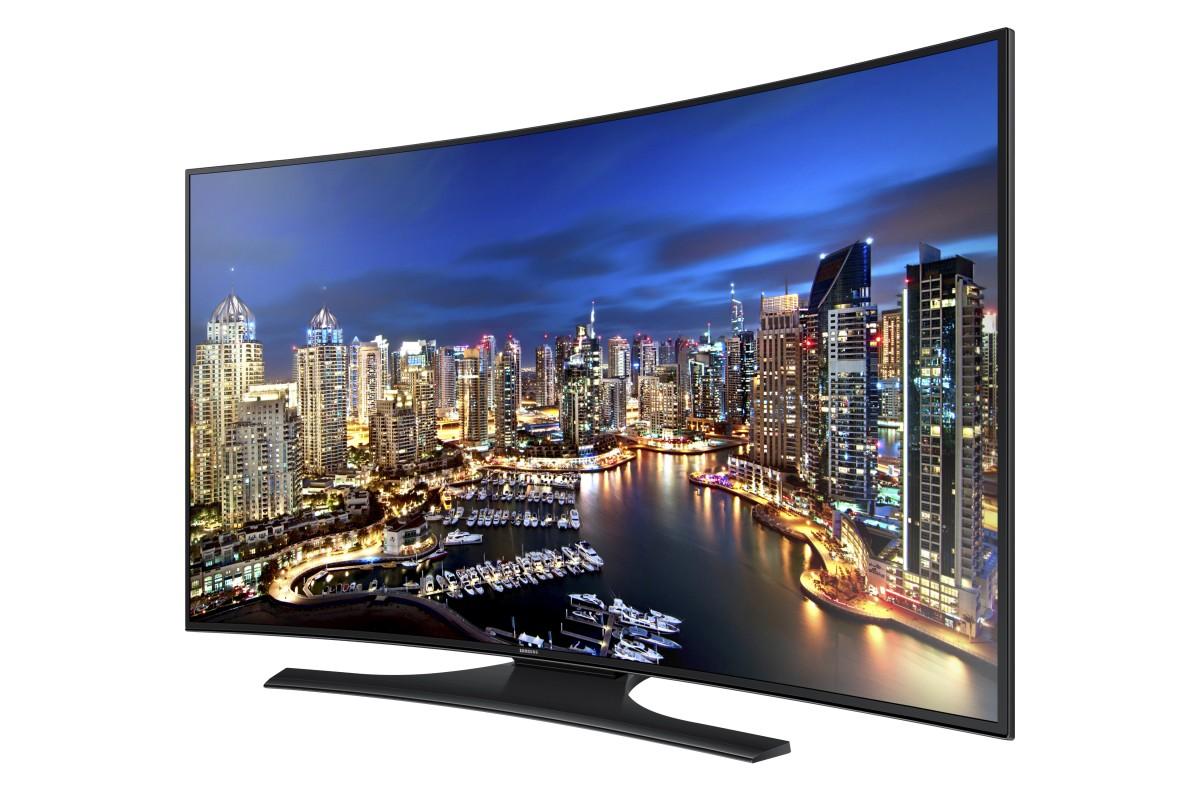 Samsung-HD TV showcasing 4K Ultra HD