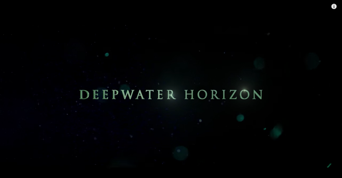 Sound Editing Oscar Nomination for DEEPWATER HORIZON