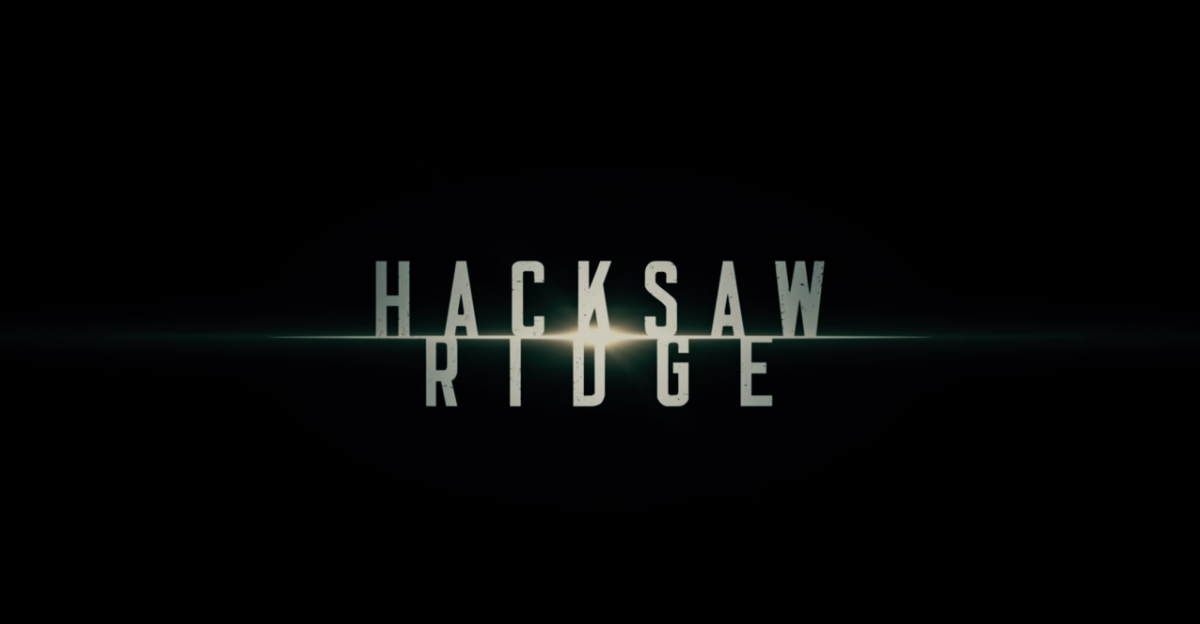 Sound Mixing Nominee HACKSAW RIDGE